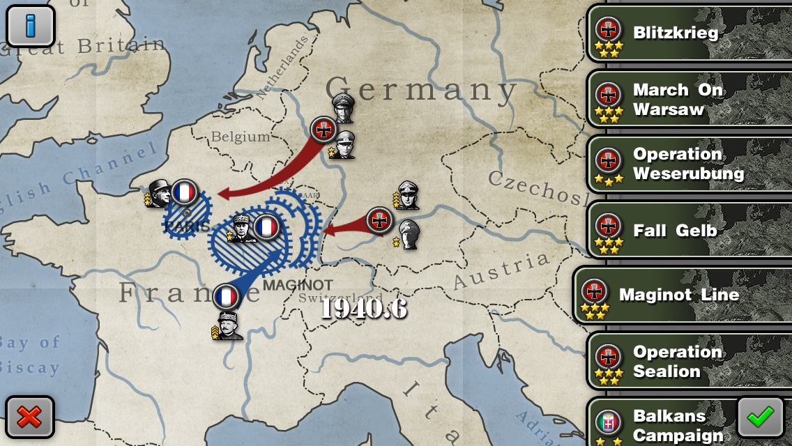 Glory of Generals 4