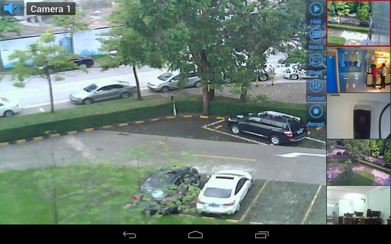 Viewer para Zavio IP cameras 4