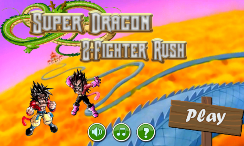Super Dragon Z-Fighter Rush 2