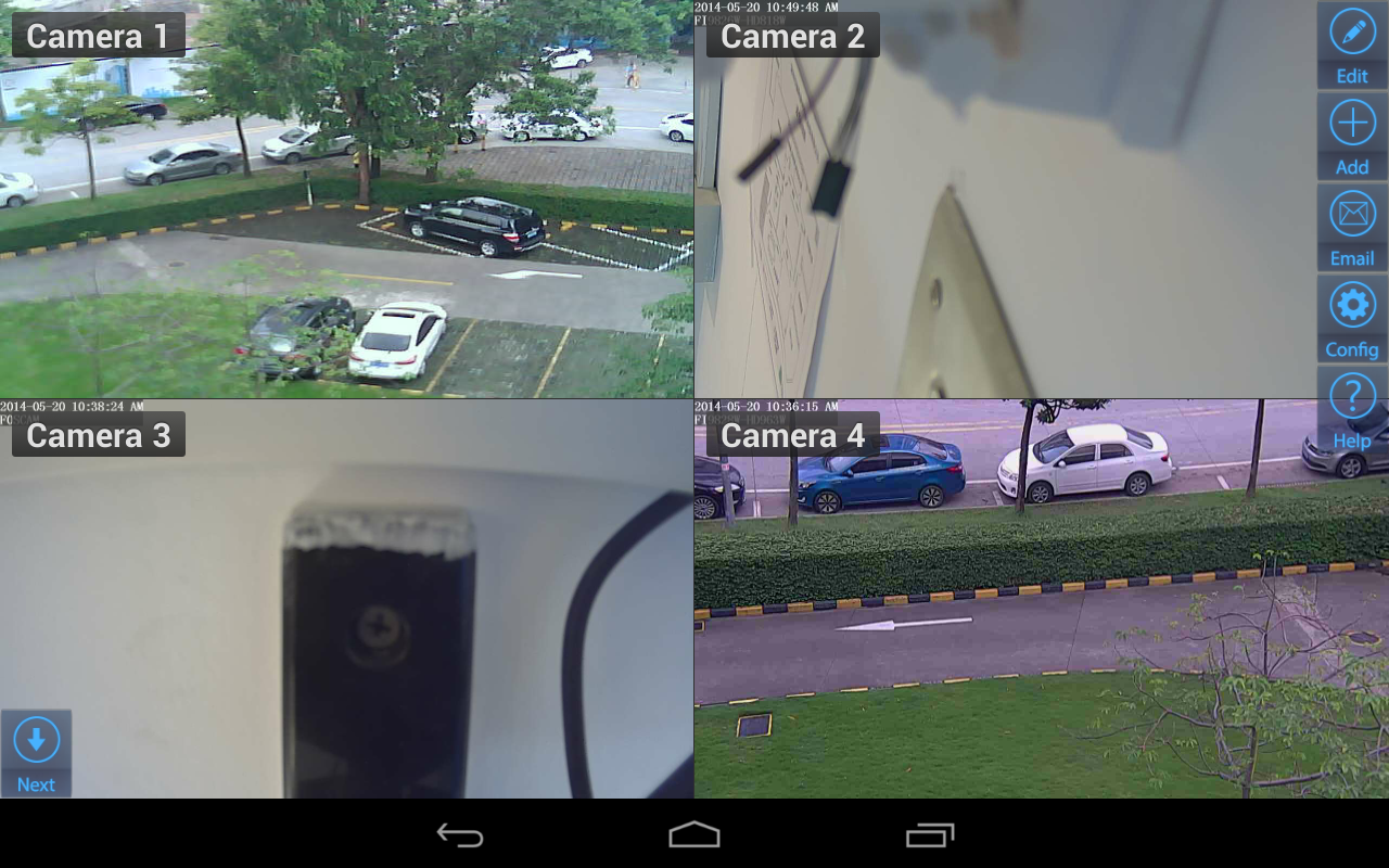 Viewer para Zavio IP cameras 1