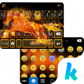 Fire Horse Emoji Kika Keyboard