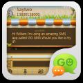 descargar GO SMS Pro Garden ThemeEX gratis