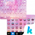 descargar Glitz Star Emoji Kika Keyboard gratis