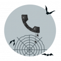 descargar Halloween Call Dialer Theme gratis