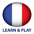 Learn and play. French words