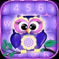 Sweet Owls Keyboard Themes