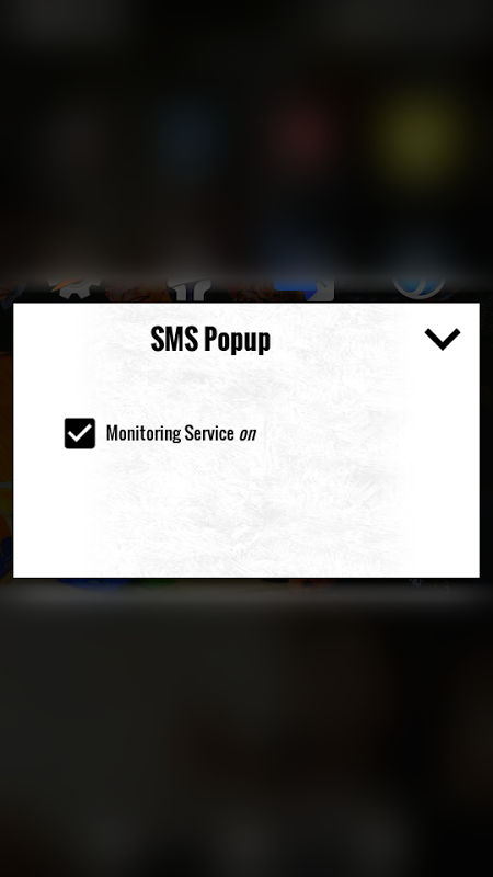 SMS Popup 1