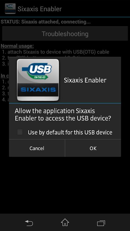 Sixaxis Enabler 4