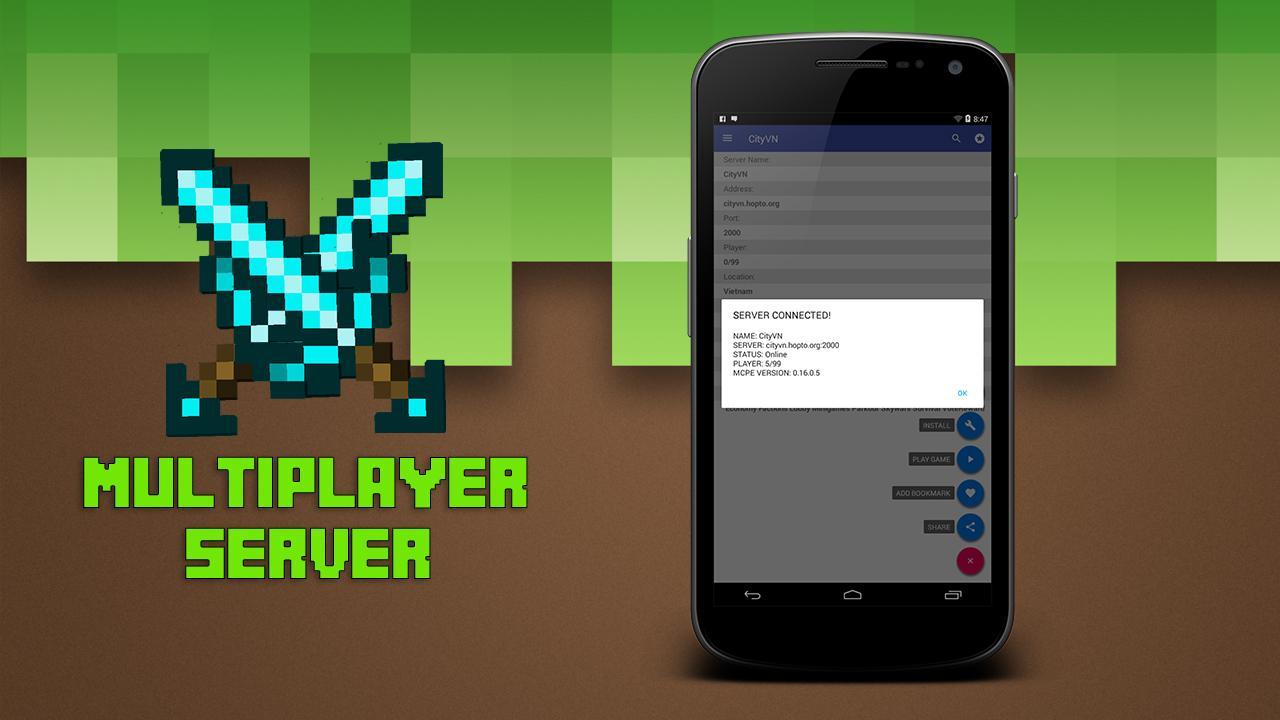 Multiplayer para Minecraft PE 1