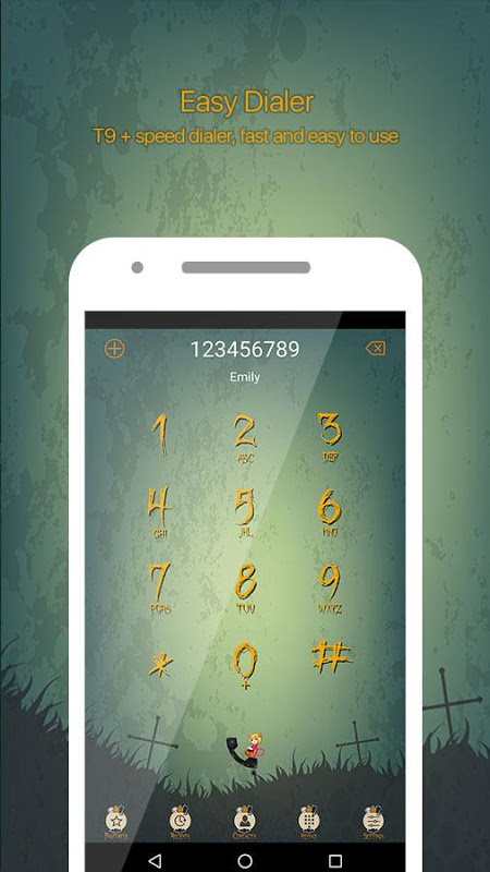 Halloween Call Dialer Theme 1