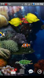Aquarium  Live Wallpaper APK 2