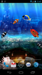 Aquarium  Live Wallpaper 3