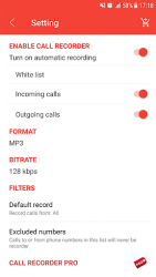 Auto call recorder APK 4