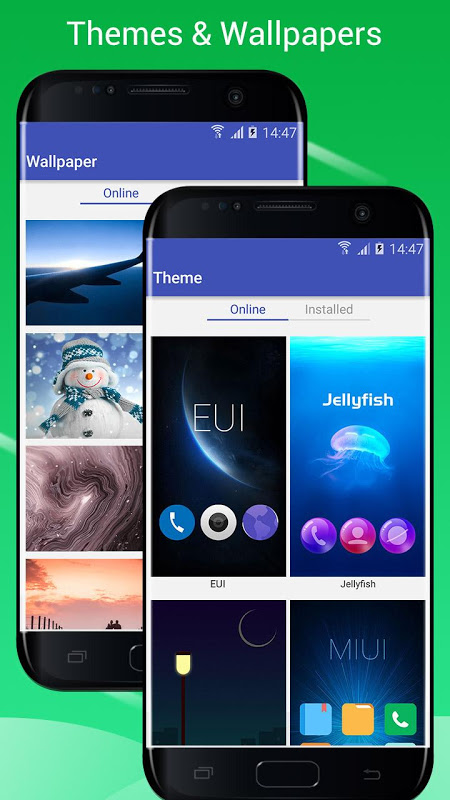 S7/S8 Launcher para Galaxy S/A/J/C, theme icon pack 3