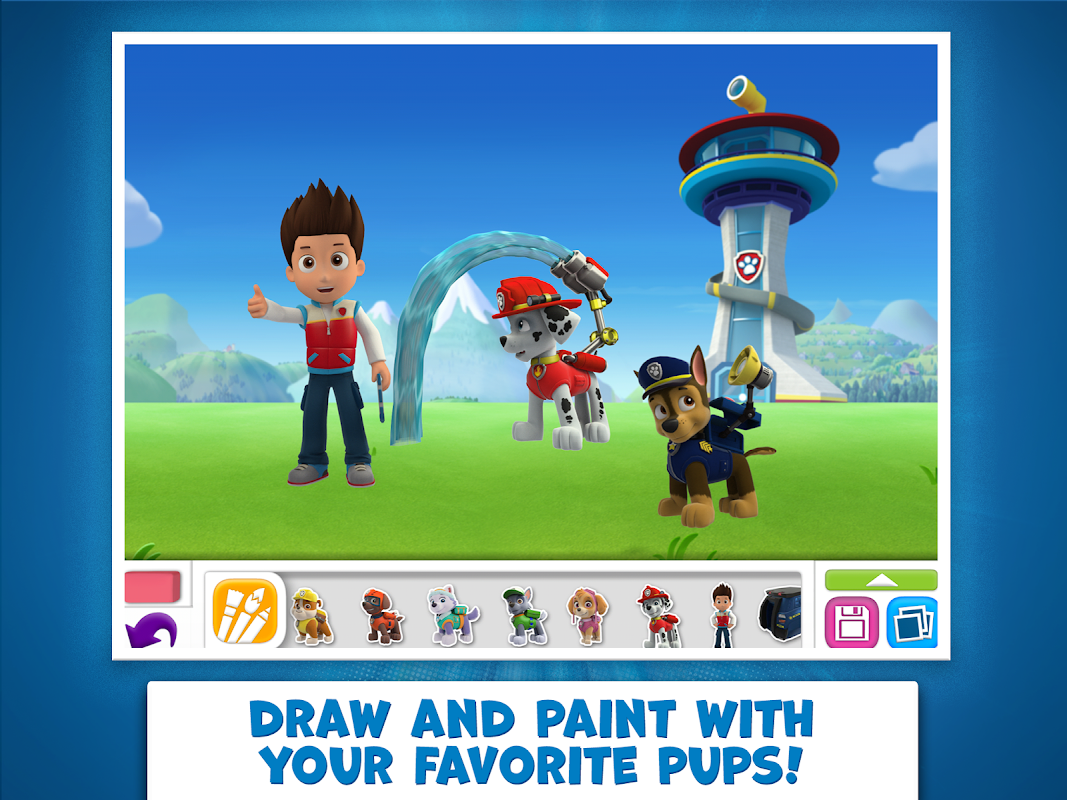 PAW Patrol Draw & Play 3