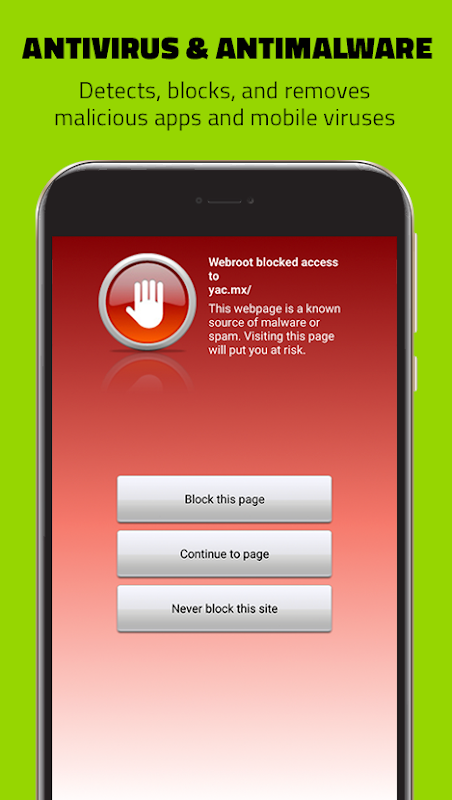 Webroot Mobile Security & Antivirus 1