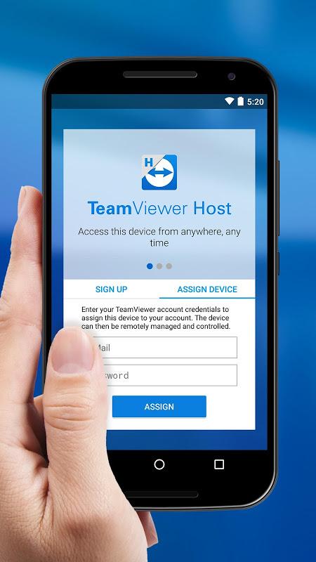 TeamViewer Host 1