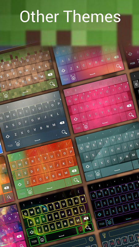 MineCam Keyboard para Minecraft Fans 3