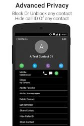 Black Caller Screen Dialer APK 2