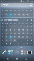 Calendar Widget Month + Agenda 3