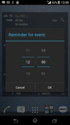 Calendar Widget Month + Agenda 1