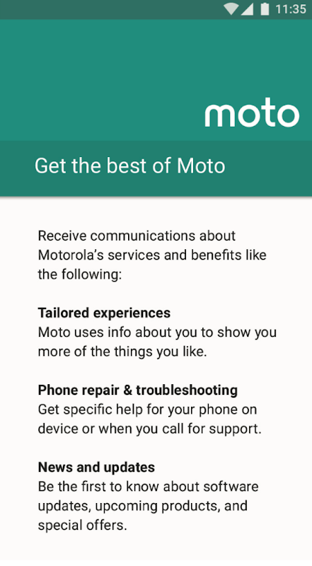 Motorola Notifications 1