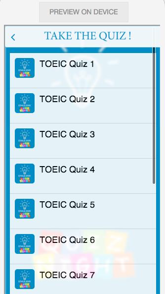 English Quiz 3
