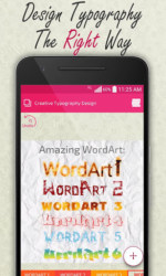 Creative Typography Design APK 3