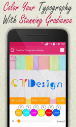 Creative Typography Design APK 2