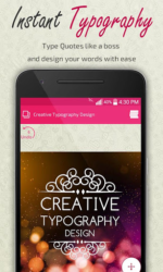 Creative Typography Design APK 4