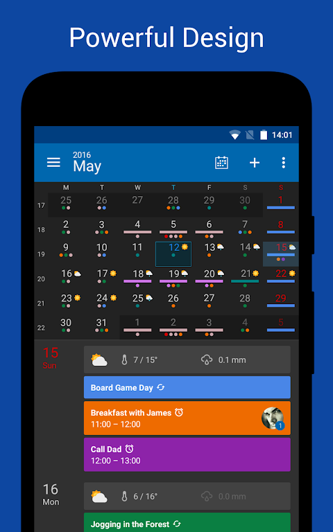 DigiCal Calendar 1