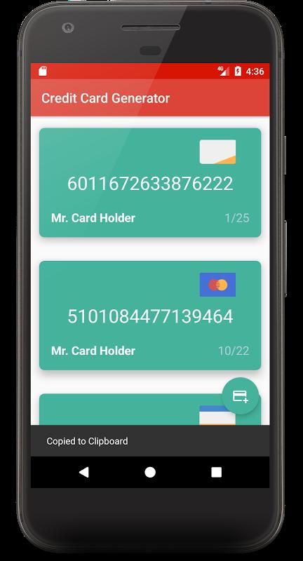Credit Card Generator APK Gratis - 🥇Descargar.Wiki🥇
