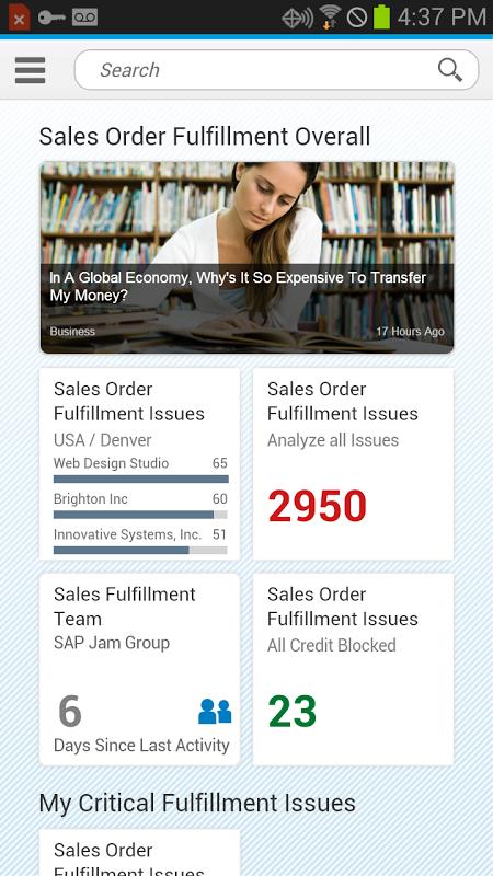 SAP Fiori Client 3