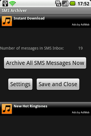 SMS Archiver 1