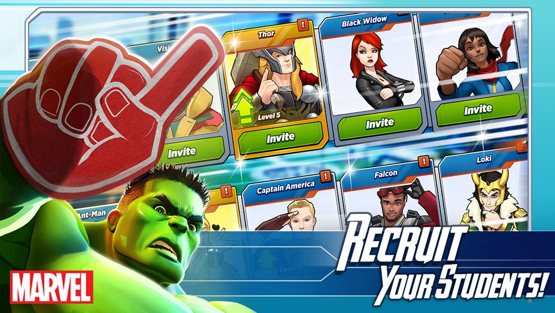 MARVEL Avengers Academy beta 3