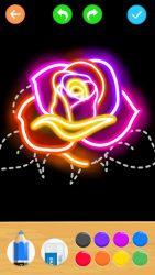 Draw Glow Flower 2