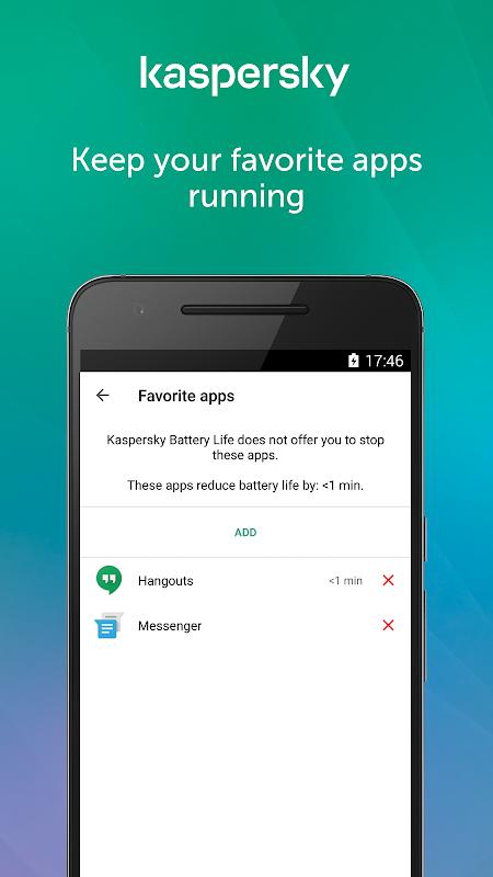 Kaspersky Battery Life 1