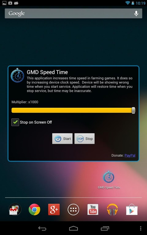 GMD Speed Time 2