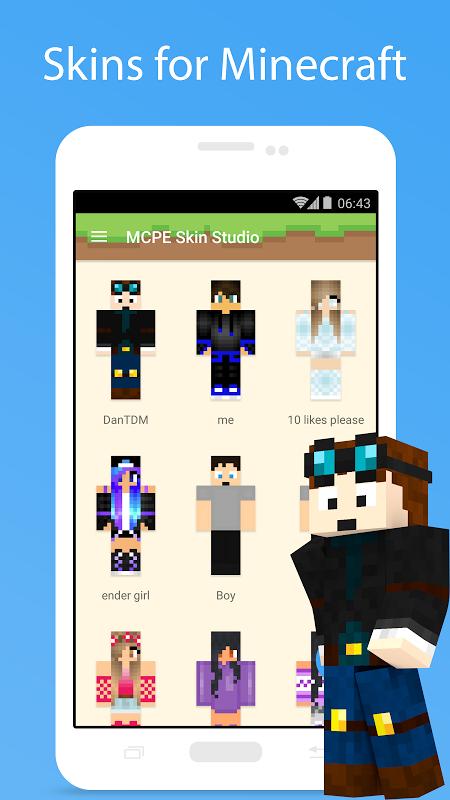MCPE Skin Studio 1