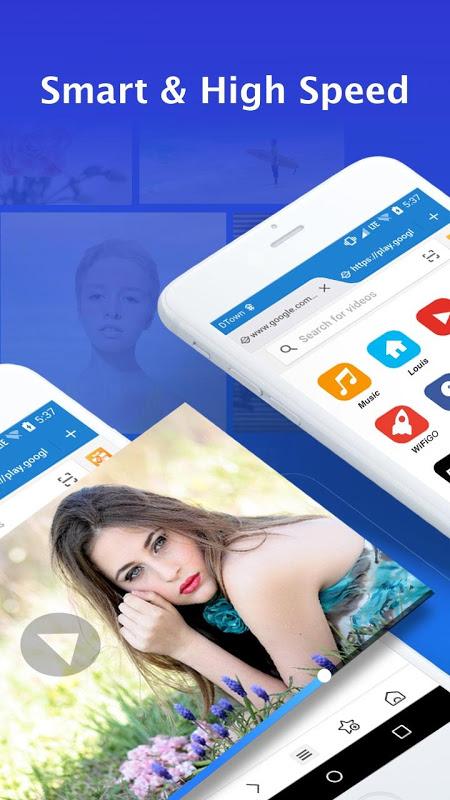 Web Browser para Android 1