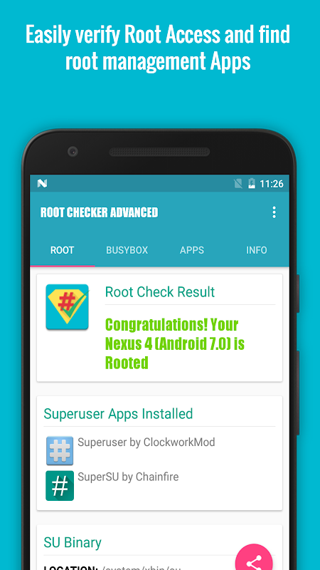 Root Checker Advanced FREE [Root] 3