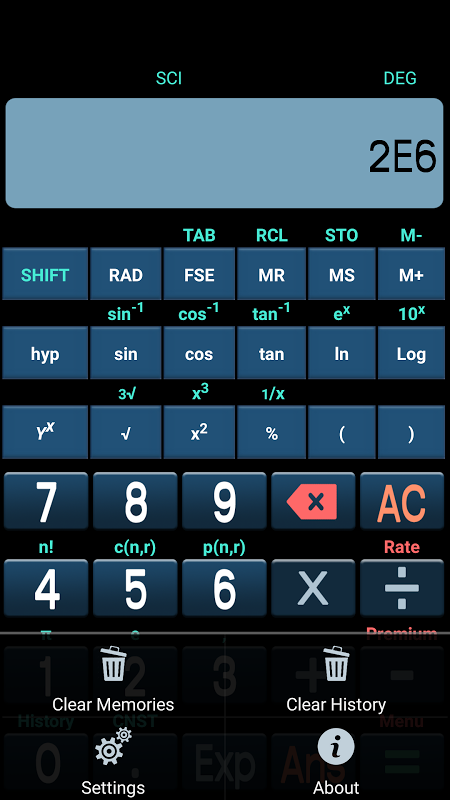 Scientific Calculator Plus 4