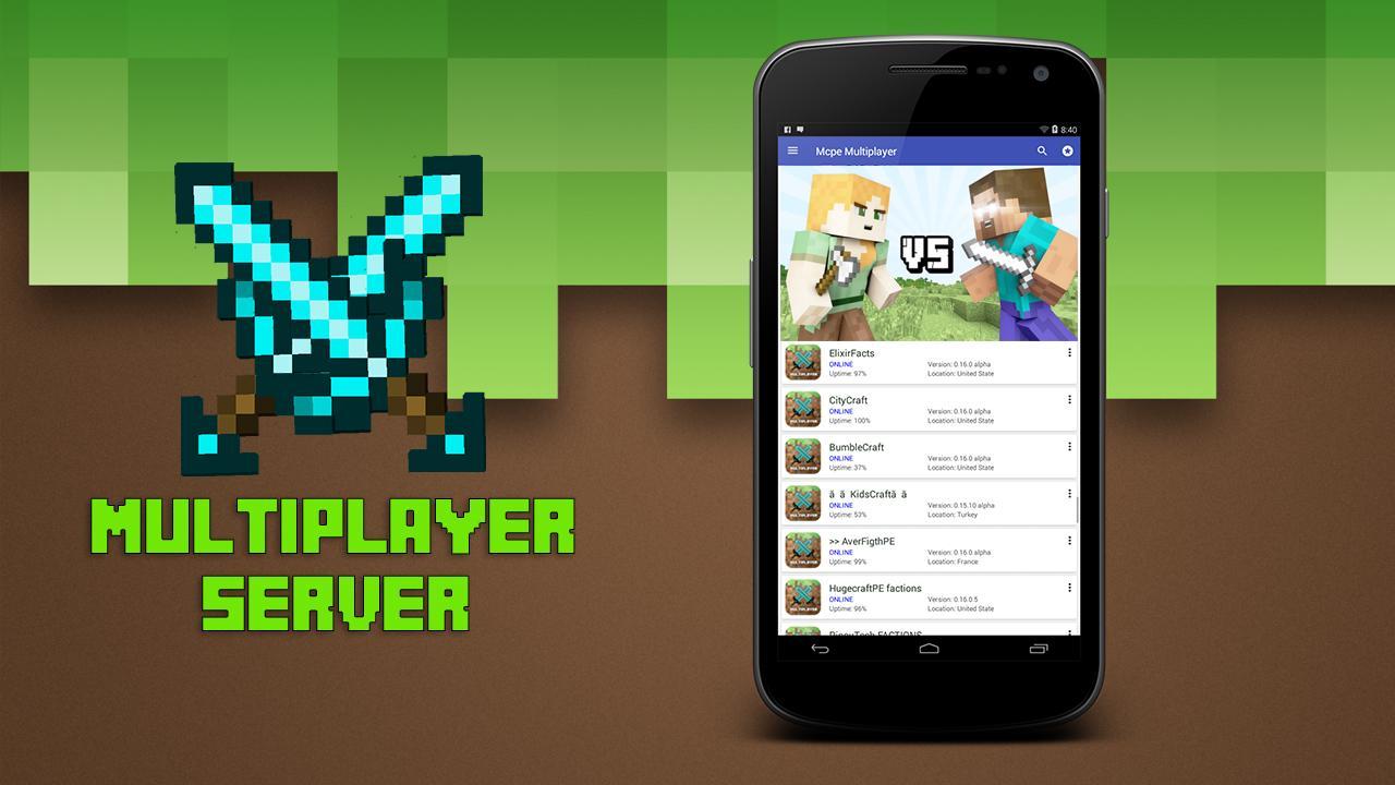 Multiplayer para Minecraft PE 3