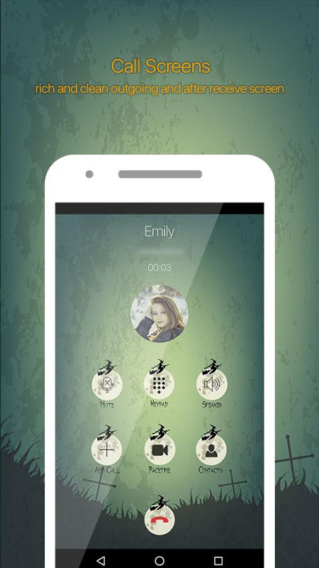 Halloween Call Dialer Theme 2