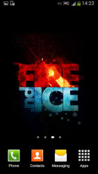 Fire y Ice Live Wallpaper 4