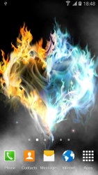 Fire & Ice Live Wallpaper 3