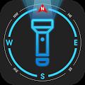 Flashlight Compass with Sounds APK