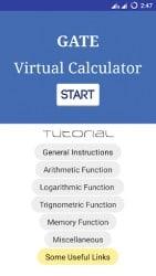 Gate Virtual Calculator 1
