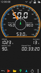 GPS HUD Speedometer  APK 1