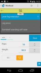 Jucy Workout Gym & Fitness Log 1